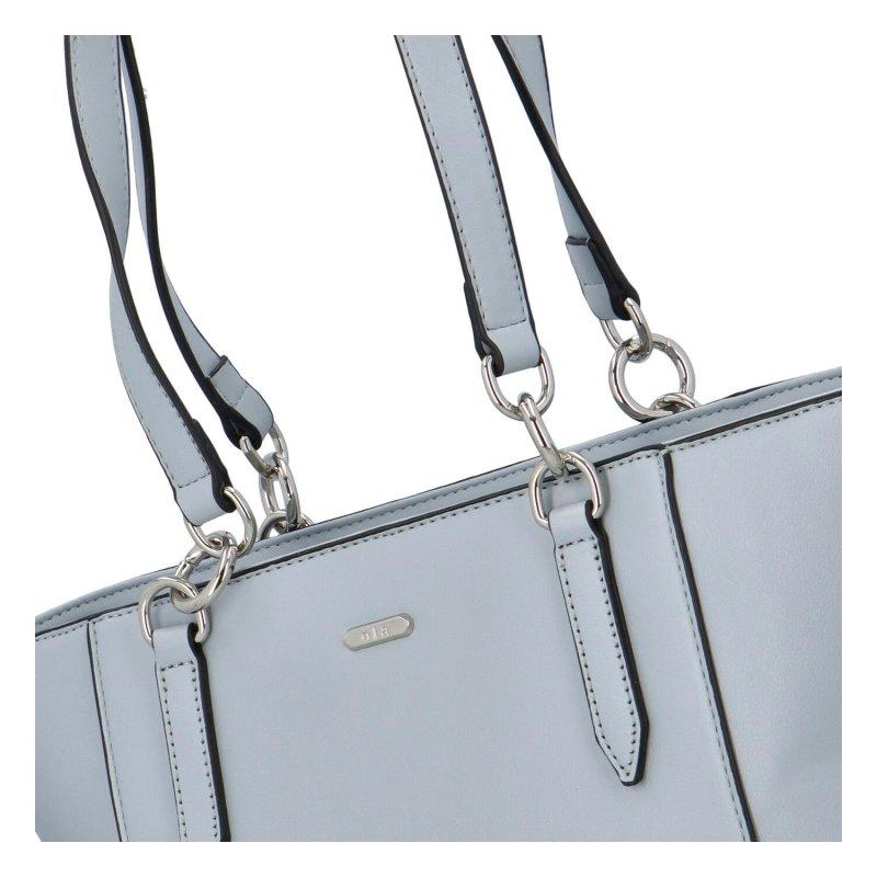 Dámská koženková kabelka přes rameno Ola Nicholas, modrá