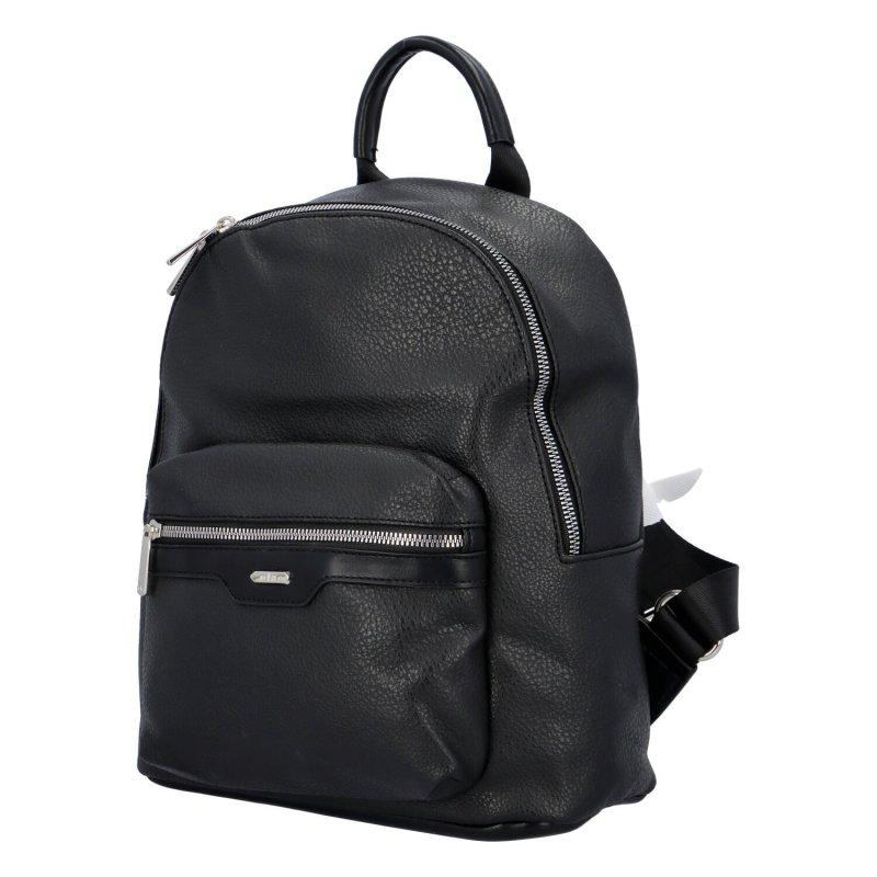 Trendy městský batůžek Tobi, černý
