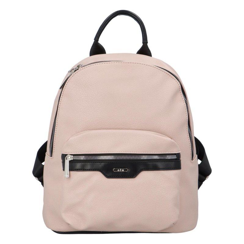 Trendy městský batůžek Tobi, růžový