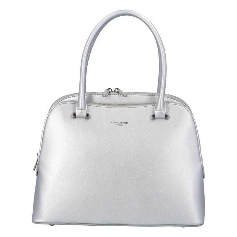 Krásná dámská kabelka Twinkie, stříbrná