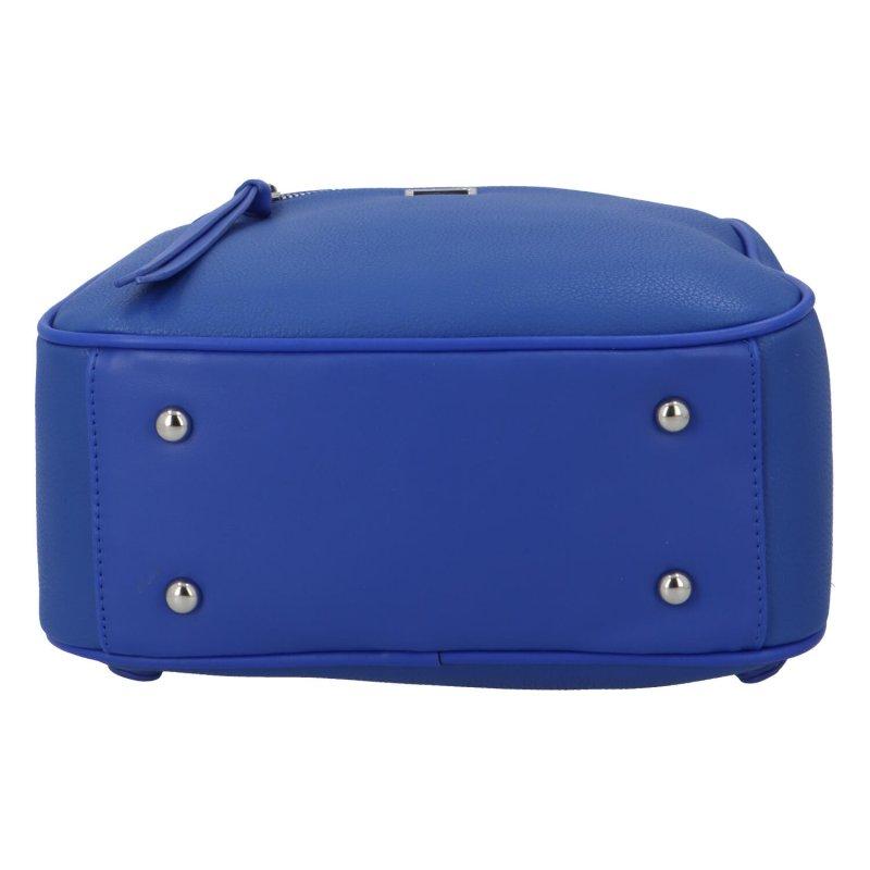 Pohodlný městský batůžek Viktor, tmavě modrý