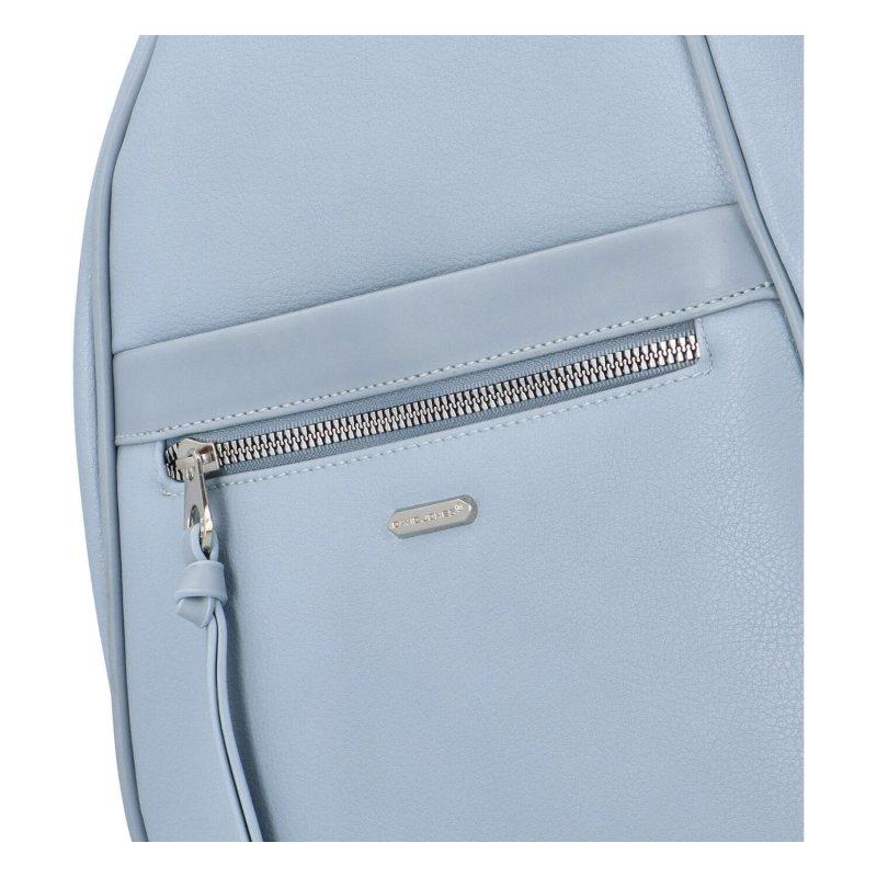 Pohodlný městský batůžek Viktor, světle modrý