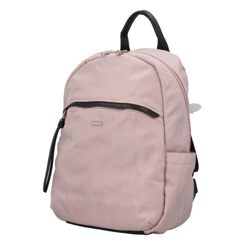 Pohodlný batůžek Ludovico, růžový