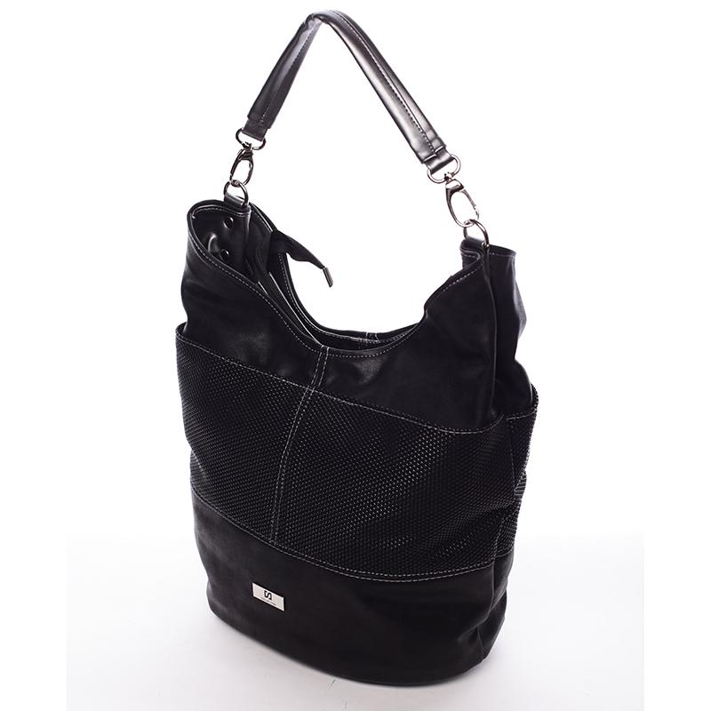 Okouzlující kabelka Salma, černá