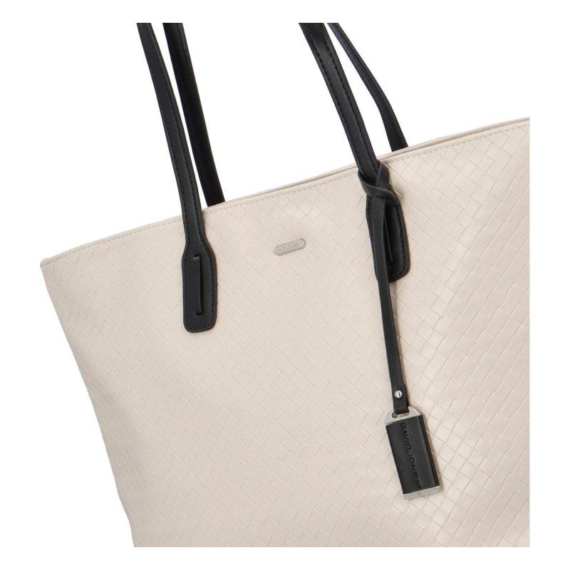 Dámská koženková kabelka Lovely Lilly, béžová