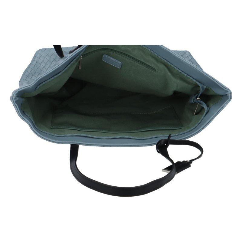 Dámská koženková kabelka Lovely Lilly, světle modrá