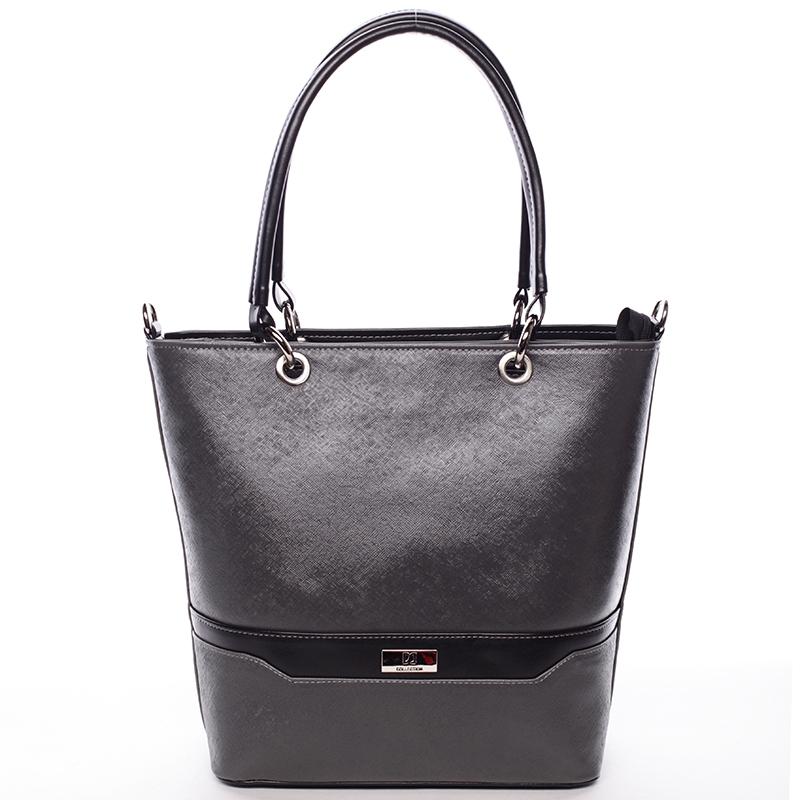Stylová kabelka Ardis, šedo-černá