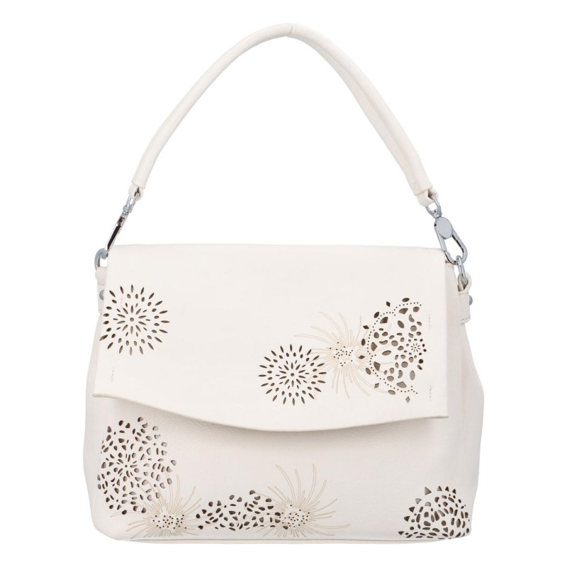 Krásná kabelka do ruky Flora BB, béžová