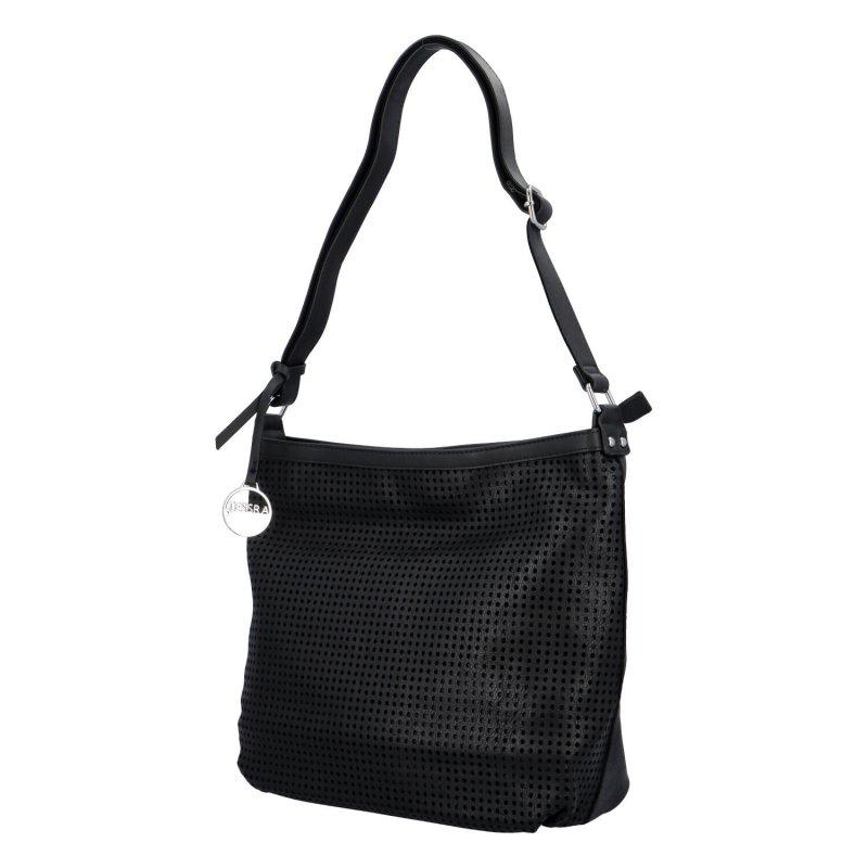 Stylová prostorná dámská kabelka Tony, černá