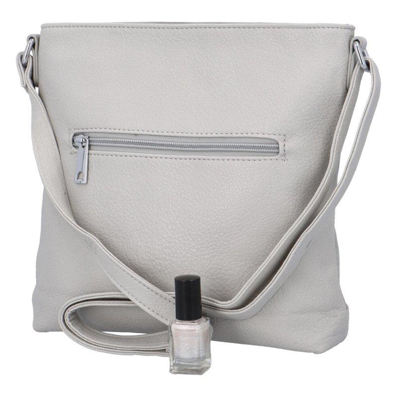 Trendová dámská kabelka Uršula, šedá