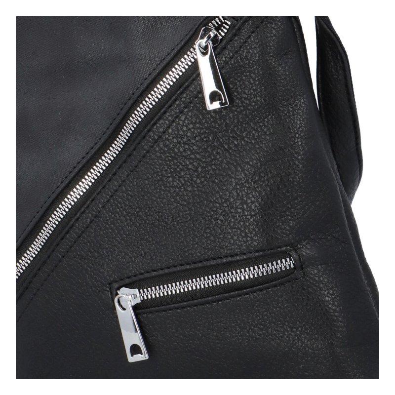 Trendová dámská kabelka Uršula, černá