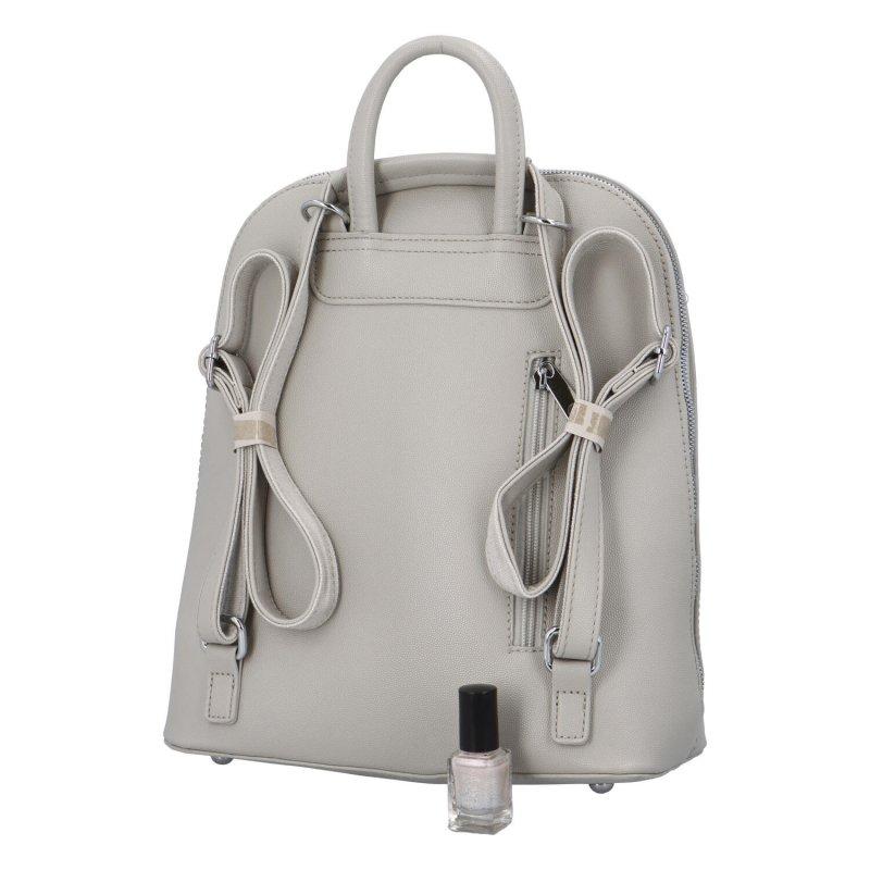 Stylový městský batoh Amalfi, šedý