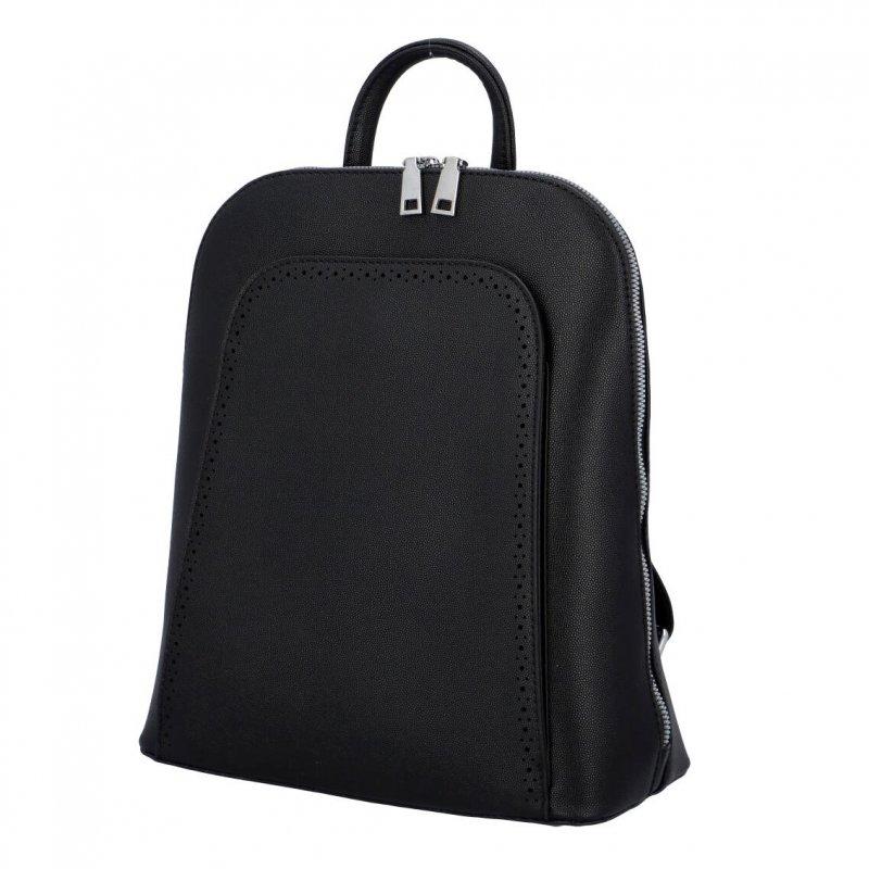 Stylový městský batoh Amalfi, černý