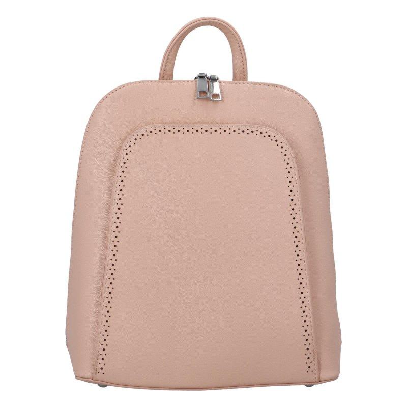 Stylový městský batoh Amalfi, růžový