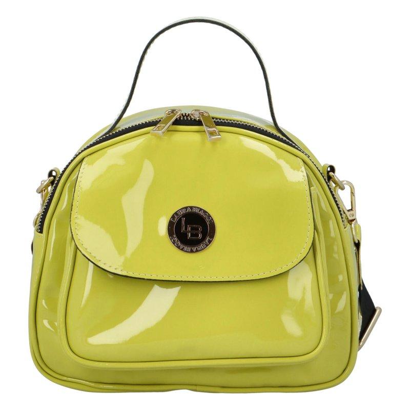 Dámská koženková kabelka Modern Laura B., zelená