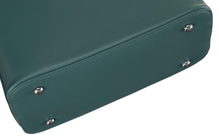 Minimalistický městský batůžek Santa Jones, zelenomodrý