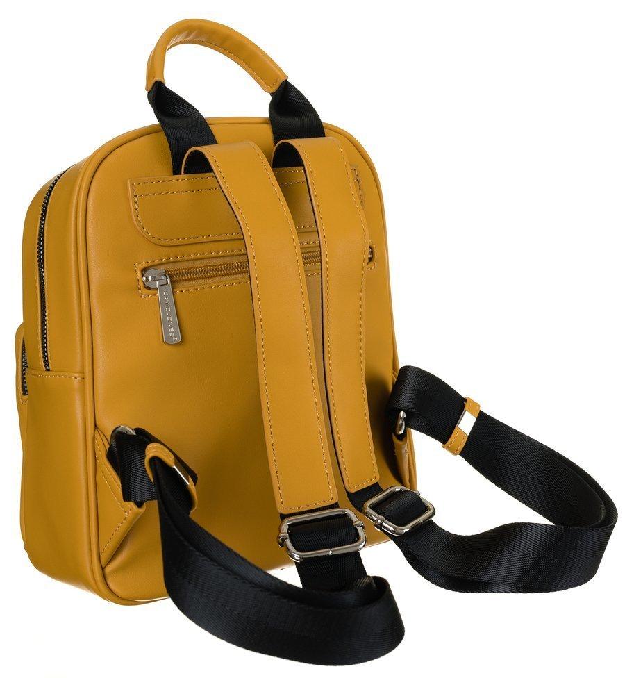Stylový dámský batůžek Roma, žlutý