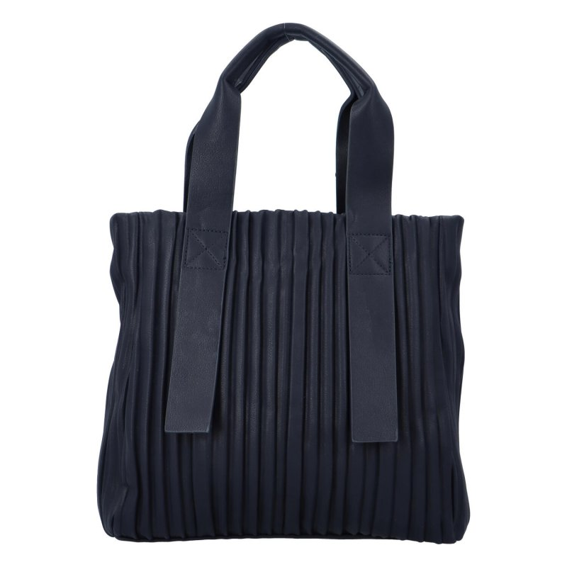 Luxusní koženková kabelka Sicily, modrá