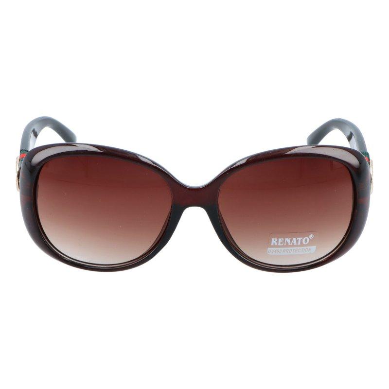 Dámské sluneční brýle Efez, tmavě hnědé