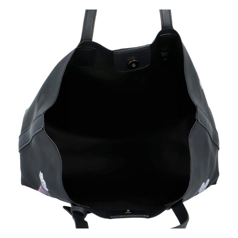 Krásná prostorná kabelka Bruno, černá