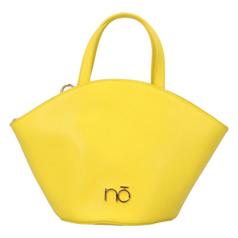 Luxusní módní kabelka Frederika, žlutá
