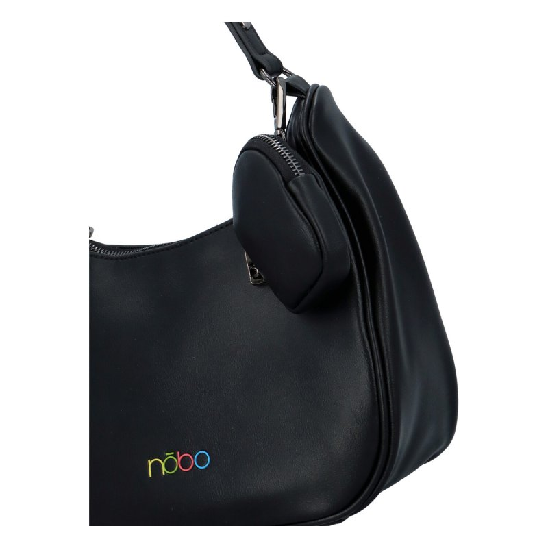 Módní malá kabelka Bei, černá