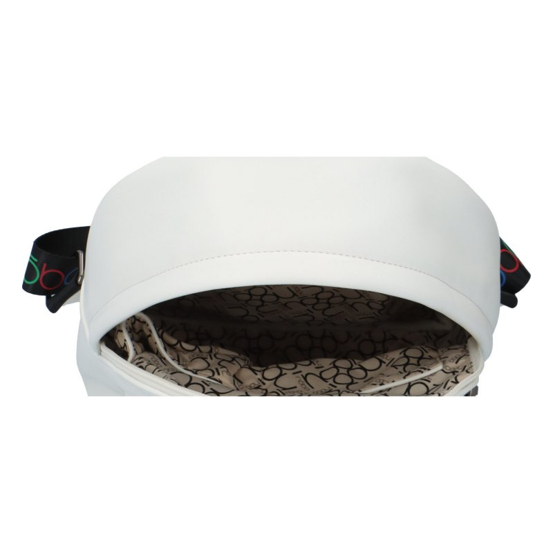 Stylový městský batůžek Tulum, bílý