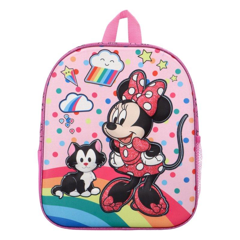 Dětský batůžek Minnie Mouse, růžový