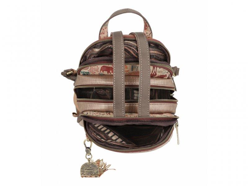Anekke městský batůžek s kapsami Kenya