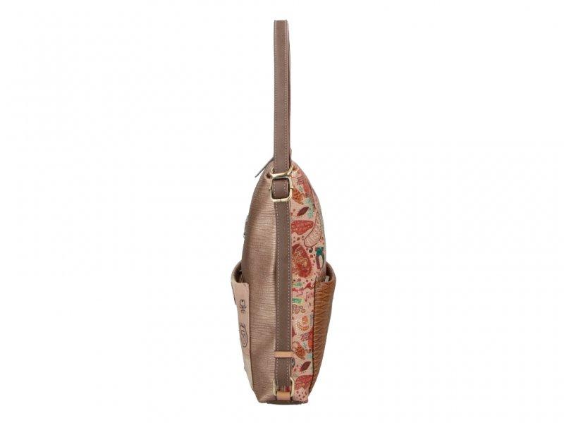 Anekke trendový kabelko-batoh Kenya
