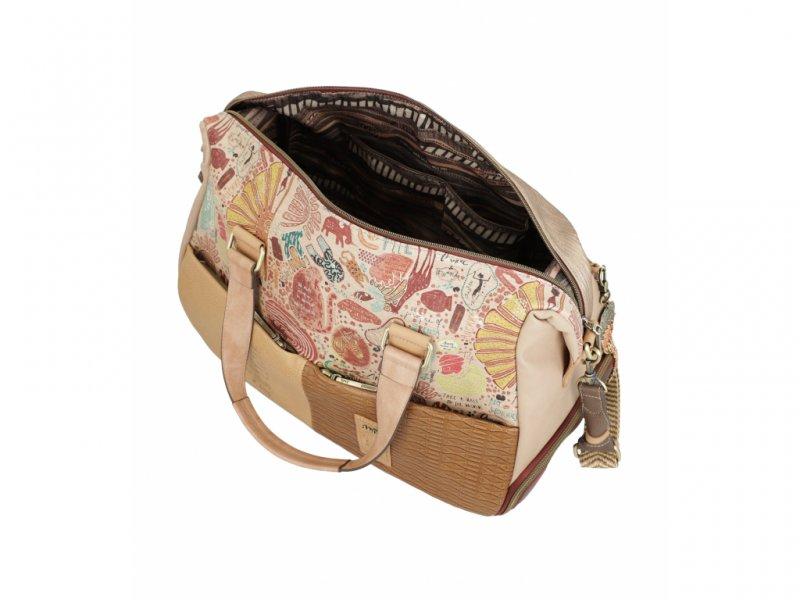 Anekke prostorná cestovní taška Kenya