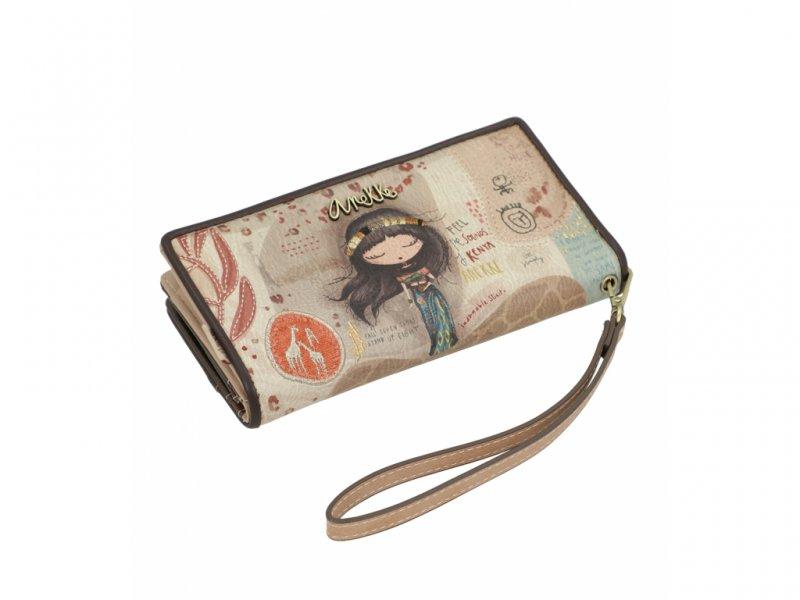 Anekke velká dámská peněženka Kenya