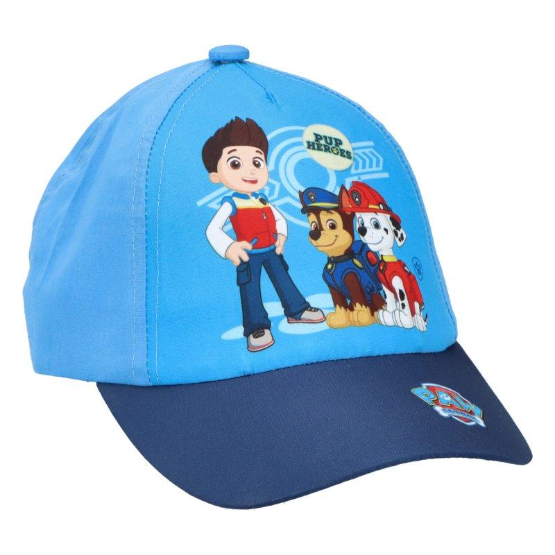 Chlapecká kšiltovka Tlapková patrola, modrá, vel. 54