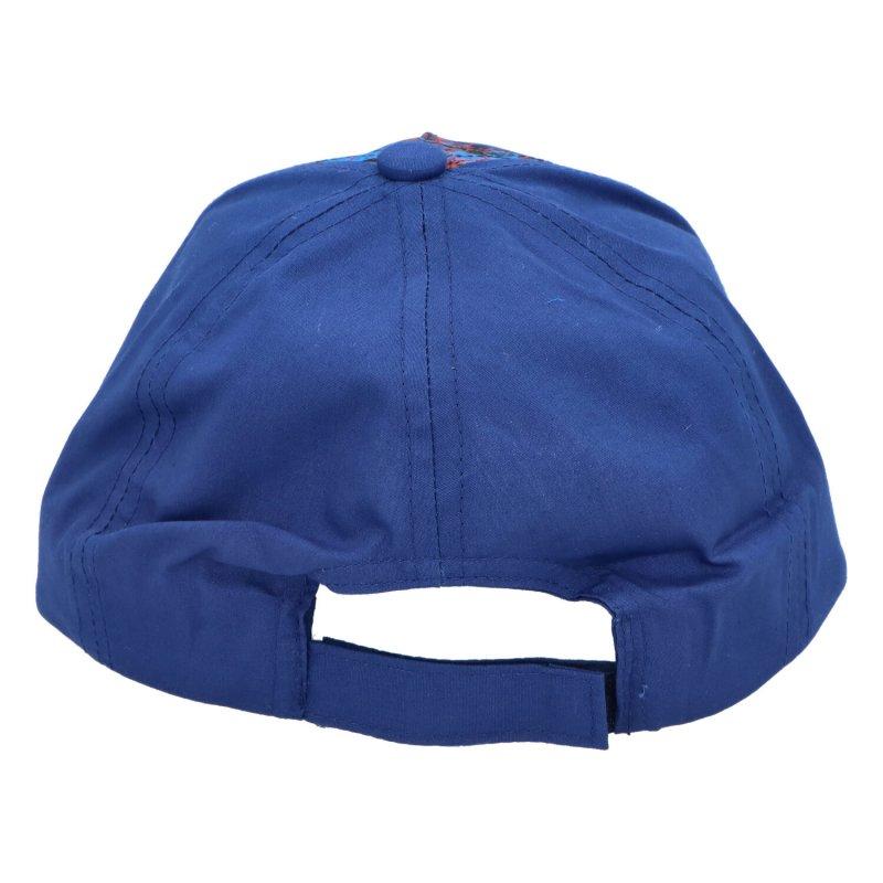 Dětská kšiltovka Spiderman, tmavě modrá, velikost 54