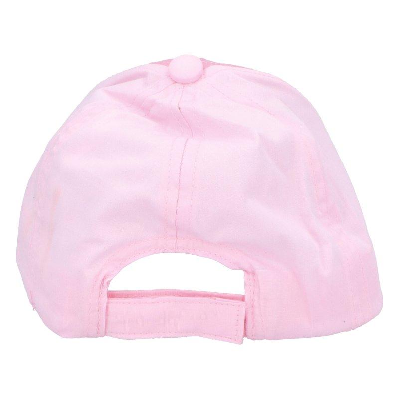 Kšiltovka Tlapková patrola pro holky, světle růžová, velikost 50