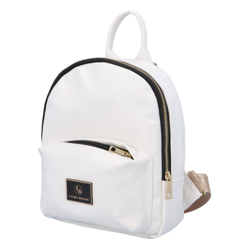 Moderní dámský batůžek LB Jul, bílý