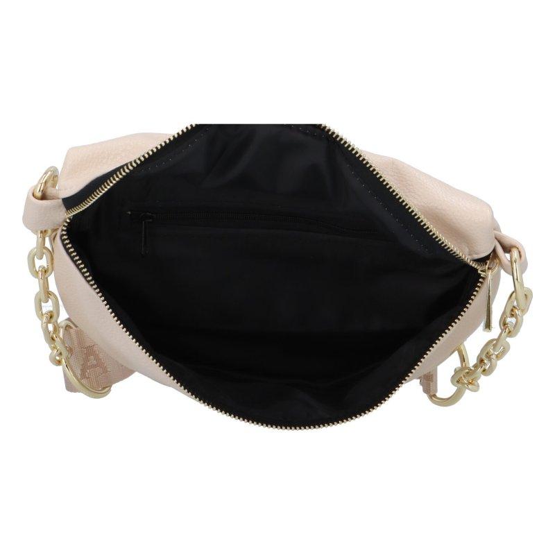 Stylová dámská koženková kabelka Ada, béžová