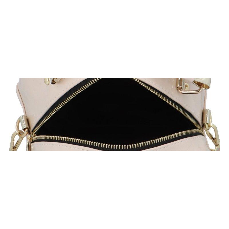 Trendová dámská koženková kabelka Millie, béžová