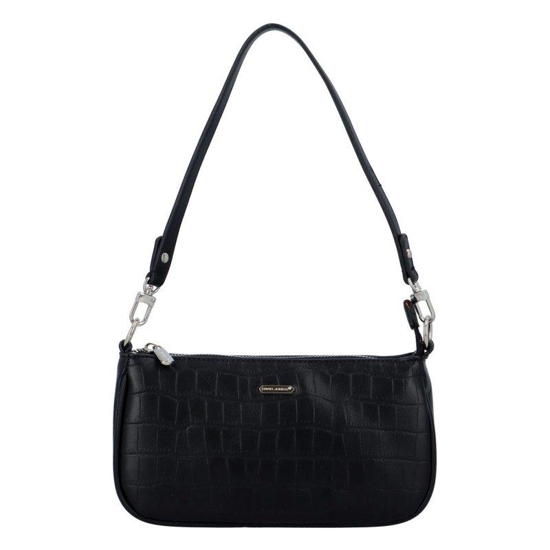 Malá koženková kabelka Lejla, černá