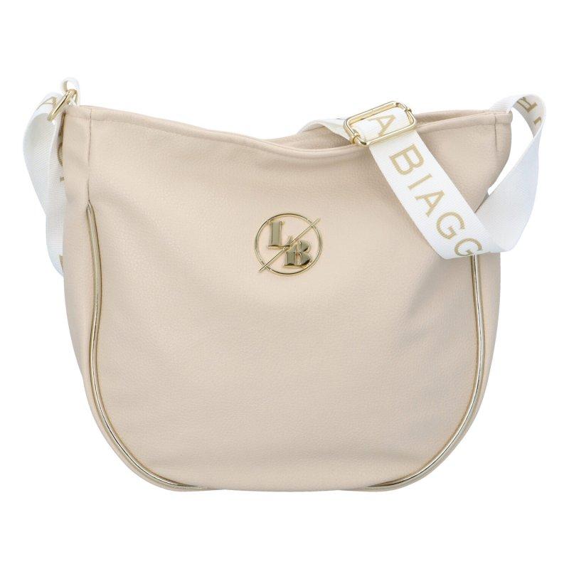 Dámská koženková kabelka Kate, béžová