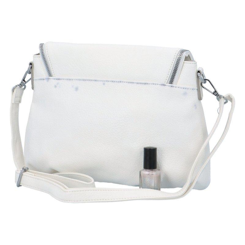 Elegantní dámská koženková kabelka Jules, bílá