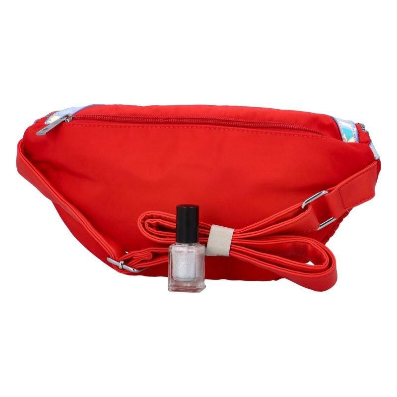 Trendy dámská ledvinka Tinka, červená