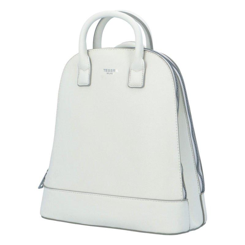 Elegantní dámský batůžek Junior, bílý