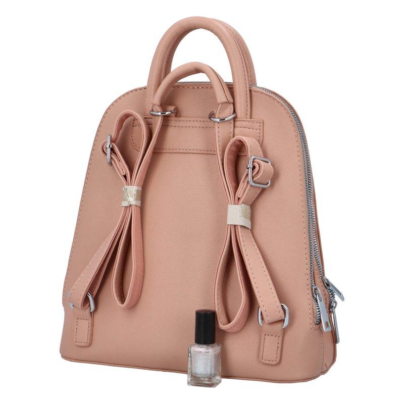 Elegantní dámský batůžek Junior, růžový