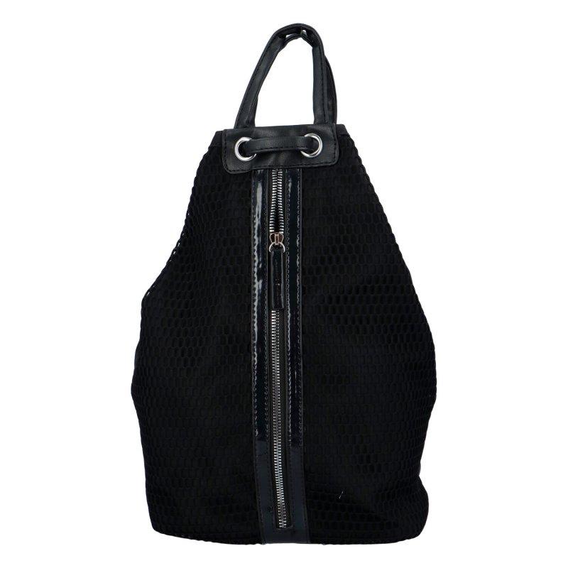 Extravagantní dámský batůžek Phil, černý