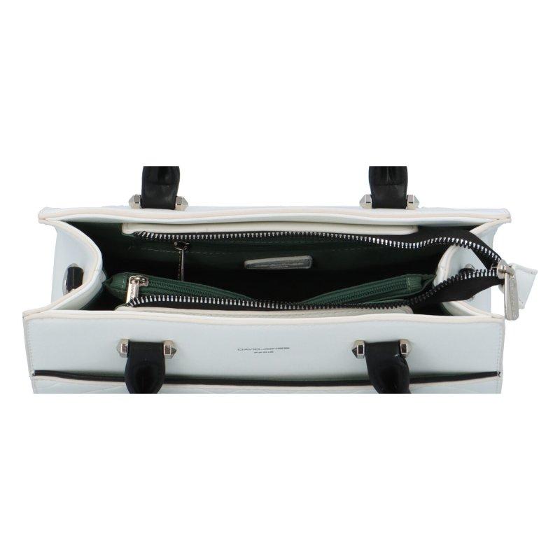 Pevná kufříková kabelka Tommi, bílá