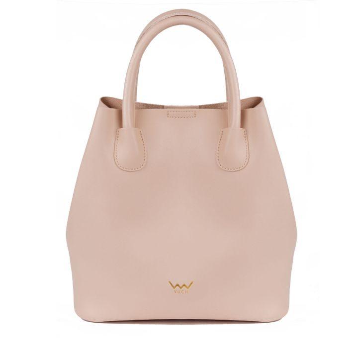Designová dámská kabelka VUCH Sendy, béžová