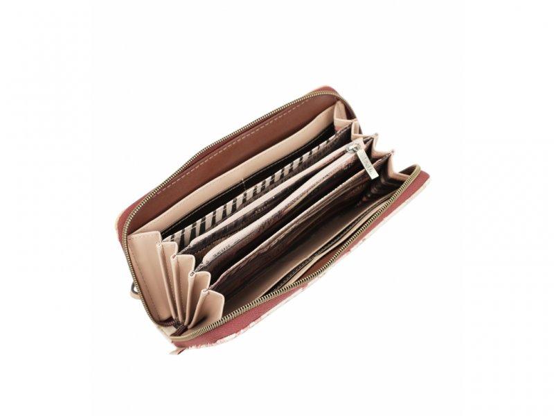 Dámská peněženka na zip Anekke Kenya