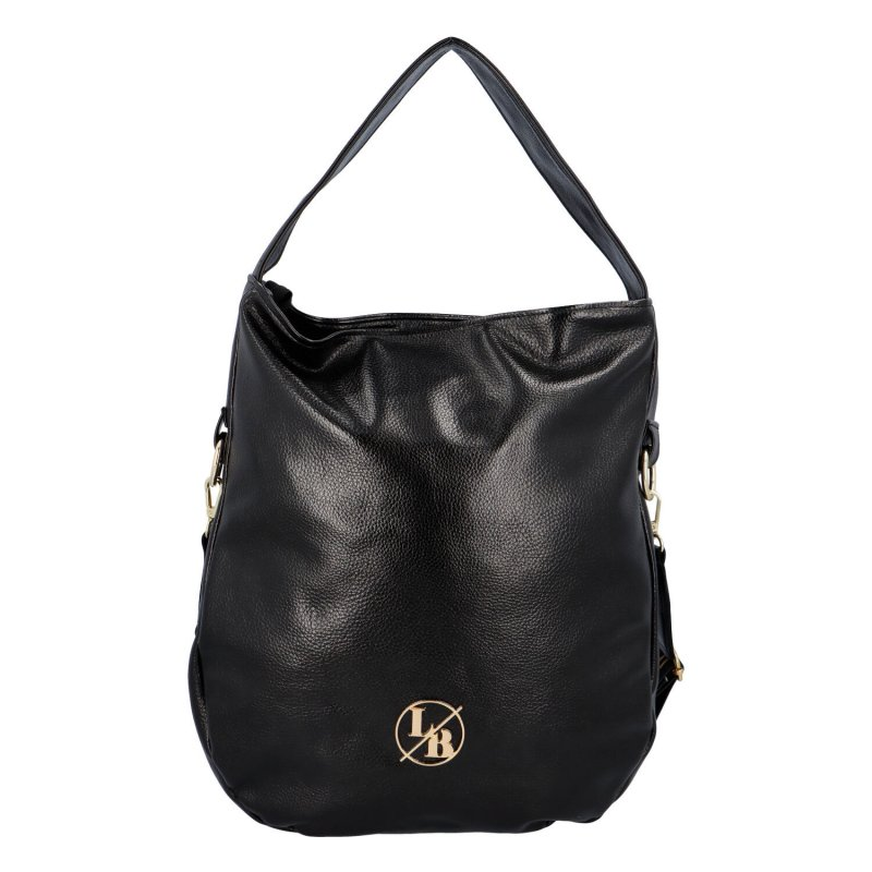 Stylová prostorná dámská kabelka Max, černá