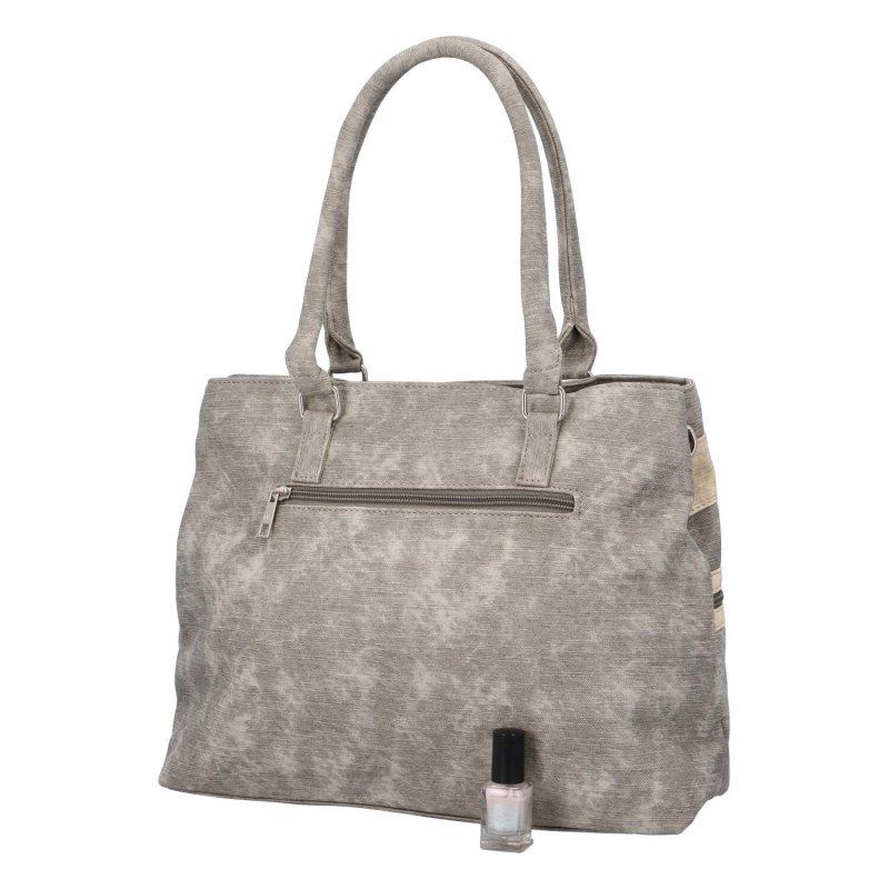 Dámská kabelka Dorota, šedá